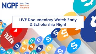 LIVE Documentary Watch Party & Scholarship Night