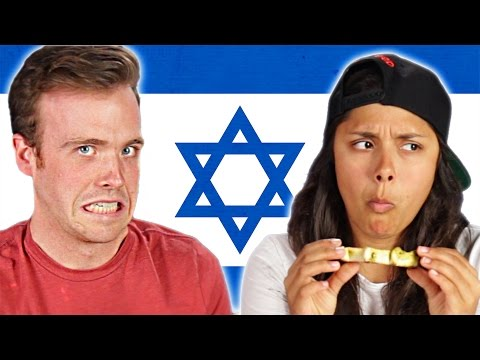 Americans Try Israeli Food For The First Time