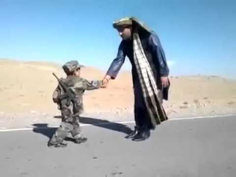 MUST WATCH! An Afghan Kid In Army 2016