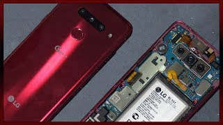 LG G8 ThinQ Disassembly Teardown Repair Guide. No earpiece speaker?