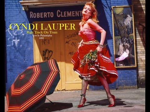 Cyndi Lauper - Right Track Wrong Train
