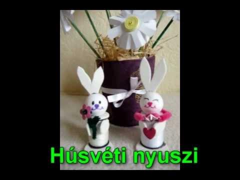 Húsvéti nyuszi készítése