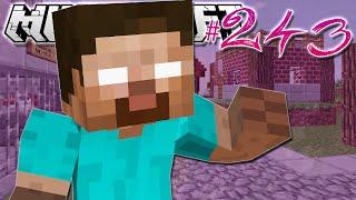 Minecraft | HEROBRINE IS HERE?! | Diamond Dimensions Modded Survival #243