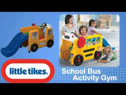 Little School Bus School Bus Activity Gym 615955