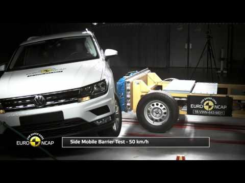 Car Crash Test & Accidents - Volkswagen Tiguan Euro NCAP