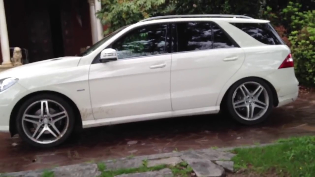 Mercedes Ml W 166 Airmatic Problem Youtube