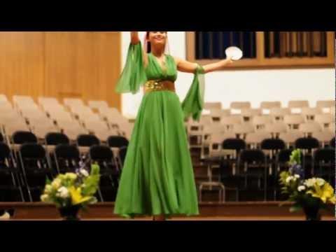 "Azerbaijani National Dance ""Nelbeki"" Bethany College - Lindsborg,KS"