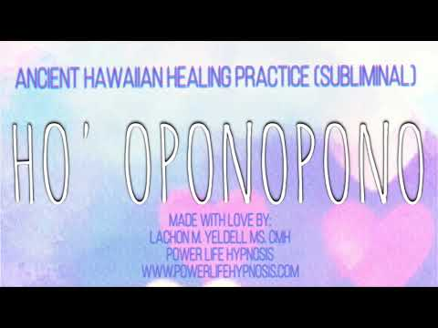 ☮️ Ho' Oponopono (SUBLIMINAL) | Prayer to Attract MIRACLES in ALL AREAS OF LIFE! ☮️