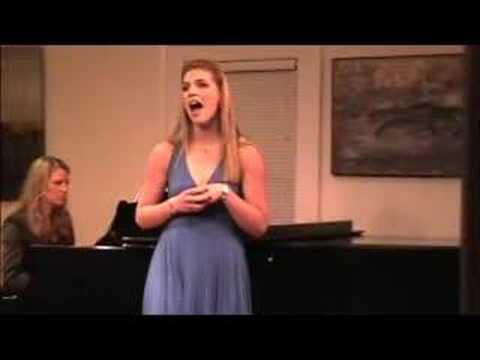 Riana Nelson singing Will He Like Me?