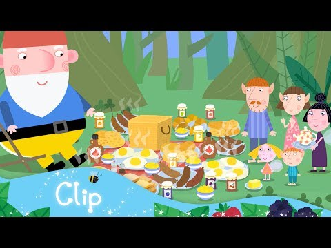 Ben and Holly's Little Kingdom - Camping Breakfast