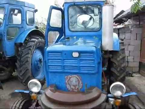 Огляд трактора Т-40 м після оранки.wmv