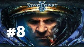 StarCraft 2 - С ножом у горла - Часть 8 - Эксперт - Прохождение Кампании Wings of Liberty