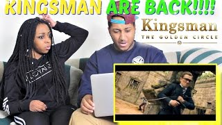 Kingsman: The Golden Circle Trailer #1 REACTION!!!!