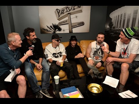 System Of A Down - Interview (Kevin & Bean) The World Famous KROQ 2014