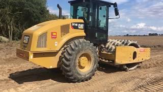 Cat CP74B Vibratory Soil #Compactor #Walkaround