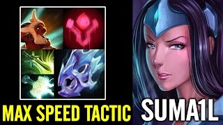 MAX SPEED TACTIC Sumail Mirana Dota 2 Patch 7.01 Gameplay