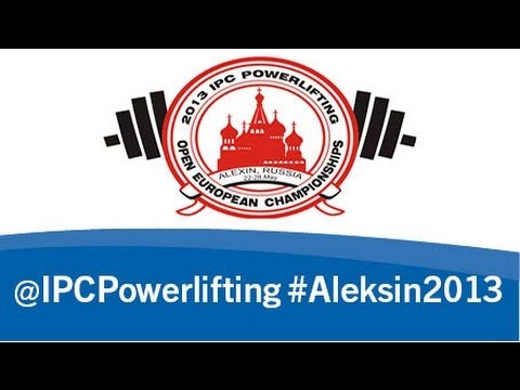 Opening Ceremony - 2013 IPC Powerlifting Open European Championships