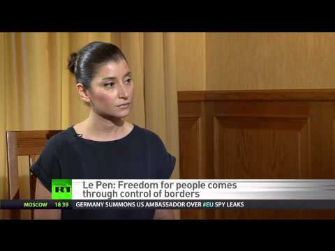 Marine Le Pen: France plagued by bankruptcy & mass immigration