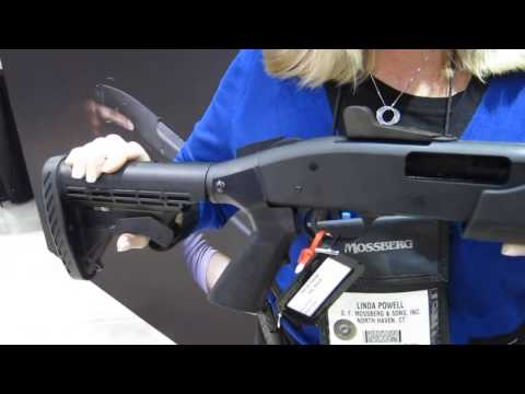 Mossberg 500 20 gauge home defense shotgun at SHOT Show 2013