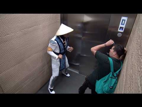 Mortal Kombat Elevator Prank 2! video