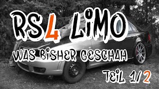 RS4 Limo  - Was bisher geschah! Teil 1 | Philipp Kaess |