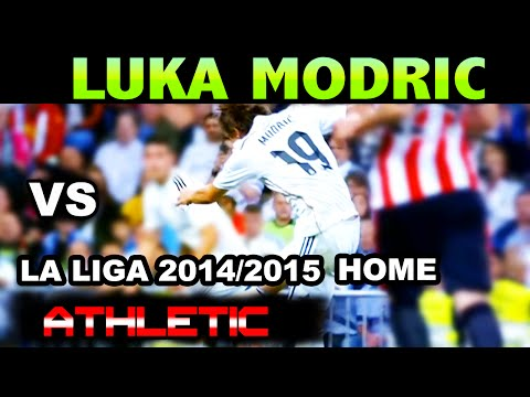 Luka Modric vs Athletic Club LA LIGA 2014/2015 ( 05/10/2014 - 05.10.2014 ) [HD]