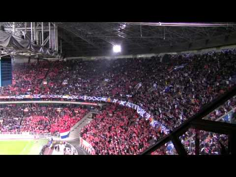 500 Miles - Amsterdam Arena - Tartan Army Music Videos