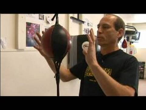 Boxing Training Equipment : Using Double End Bags in a Boxing Gym Image 1