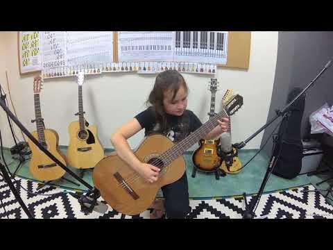 Melodia Hiszpańska Tatiana Stachak Nauka Gry Na Gitarze Warszawa