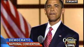 Download Barack Obama's Speech - 2008 Democratic National Convention 3Gp Mp4