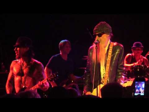 Camp Freddy with Billy Gibbons - Blues&La Grange - Roxy 12/23/11