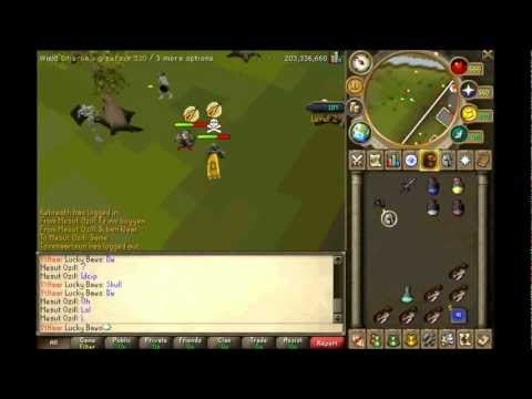 dharoks -small pk video- ( 1 song ) some epic koes