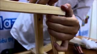Hướng dẫn lắp ngựa gỗ bập bênh cho bé [đồ chơi gỗ A+] - Aplaza.vn