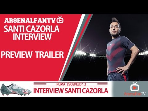 Ooh Santi Cazorla!!! | Exclusive Interview Trailer