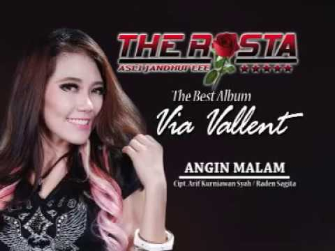 Via Vallen - Angin Malam (Official Music Video) - The Rosta - Aini Record