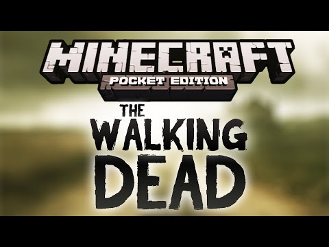 The Walking Dead (Adventure Map) | Minecraft PE 0.10.0 / 0.10.5