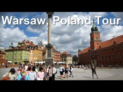 Warsaw, Poland - Traveling tour, sightseeing and landmarks