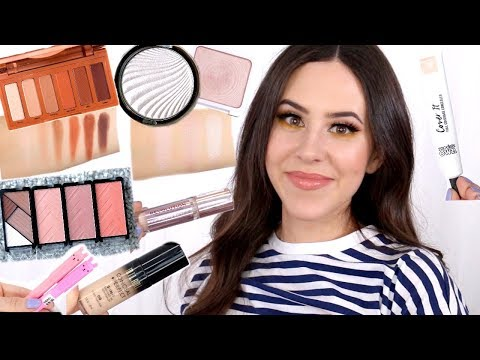 HUGE NEW MAKEUP HAUL 2018 || Drugstore, Ulta & Sephora || Reviews & Swatches