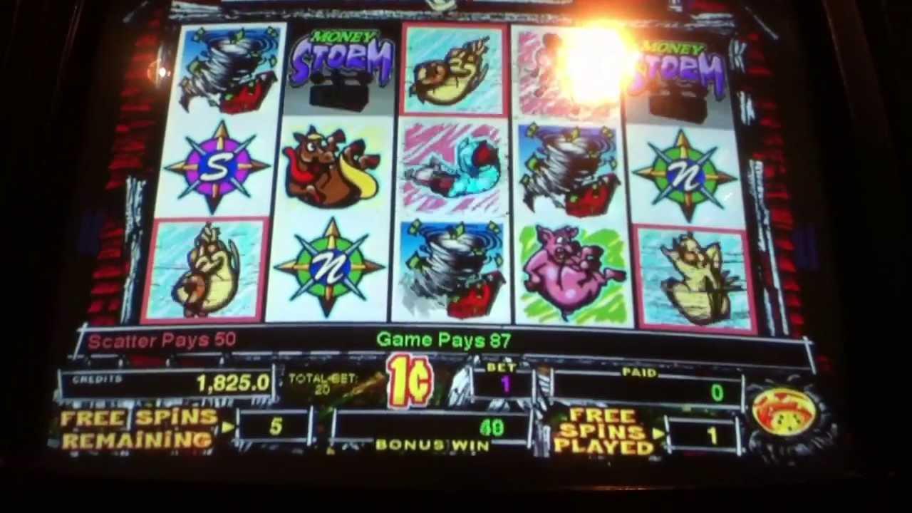 play money storm slot machine