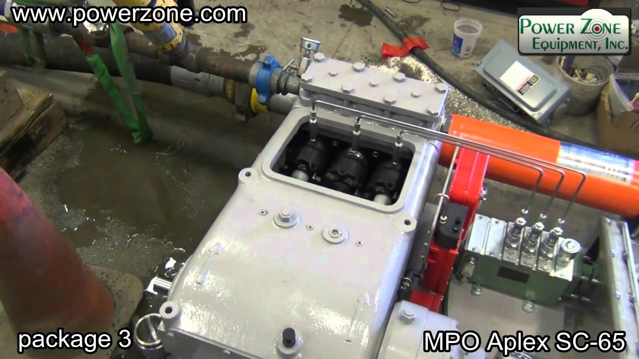 Sold Mpo Aplex Sc 65 Electric Driven Pump Systems Youtube