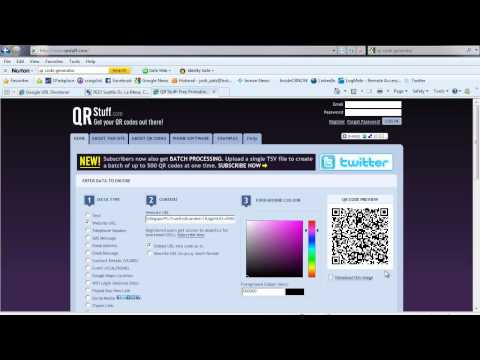 Create Free QR Codes with Tracking using Google's New Goo.GL URL Shortener