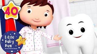 Brush Your Teeth | +More Nursery Rhymes & Kids Songs | Little Baby Bum