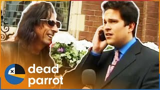 Alice Cooper Interview Goes Wrong - Trigger Happy TV