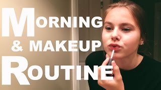 SCHOOL MORNING & DAILY MAKEUP ROUTINE