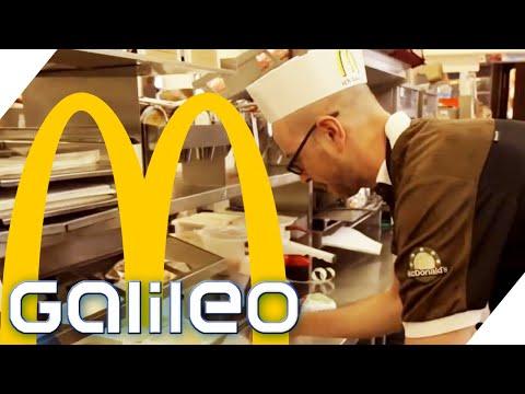 Harte Arbeit: Für einen Tag Angestellter bei McDonald's   Galileo   ProSieben