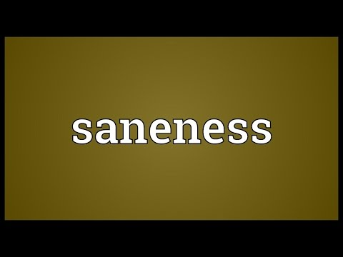 Header of saneness