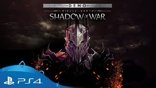 Shadow of War | Free Demo Trailer | PS4