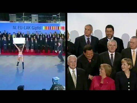 World Leaders Excited By Naked Women (vuelva, Vuelva!) - Erdoğan Not Amused. video