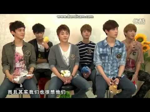 EXO-M YIN YUE TAI INTERVIEW PART 4  音?大?? 엑소 (EXOCHARM)