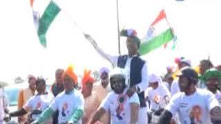 तिरंगा यात्रा में शामिल हुए भोपाल मंत्री विश्वास सारंग 25-01-18